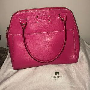 Pink Kate Spade Dome Bag